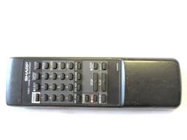 Sharp G0956GE Vcr Remote Fits VCA303, VCA3030, VCA303U, VCA3034, VCA303UD B12 - $11.95