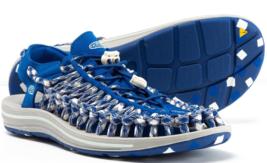 Keen Uneek Flat Cord Size 9 M (D) EU 42 Men's Sport Sandals Shoes Blue Raven