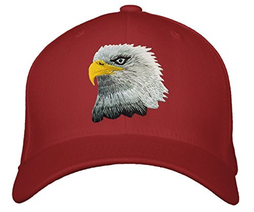 American Bald Eagle Hat - Adjustable Baseball Cap with Color & Style Options (Re