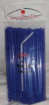 Straws Flex / Flexible Drinking Straws - Royal Blue Luau Wedding Recepti... - $10.56 CAD+