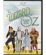 The Wizard of Oz DVD 70th Anniversary 2 Disc Special Edition - $9.89