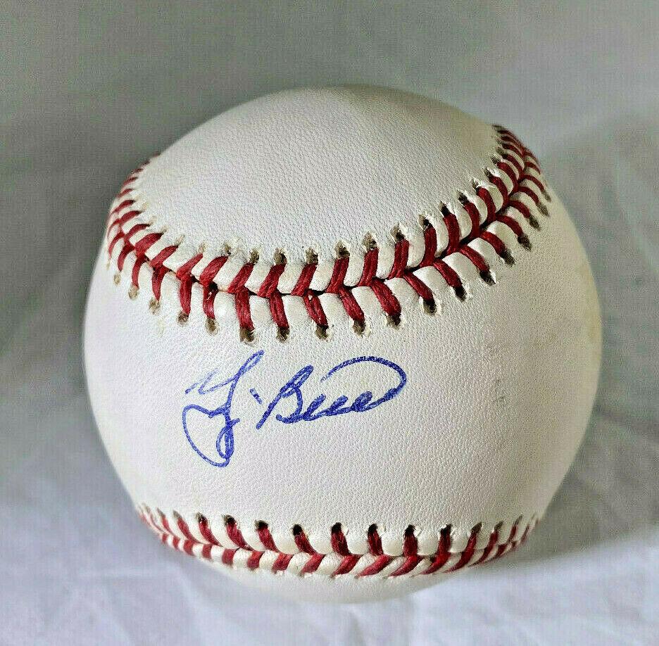 YOGI BERRA / MLB HALL OF FAME / AUTOGRAPHED OFFICIAL N.L. BASEBALL / JSA COA