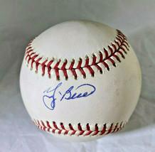 YOGI BERRA / MLB HALL OF FAME / AUTOGRAPHED OFFICIAL N.L. BASEBALL / JSA COA image 1