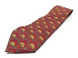 Robert Talbott Best of Class Tie Allover Pattern 100% Silk Neck Tie Made... - $29.65