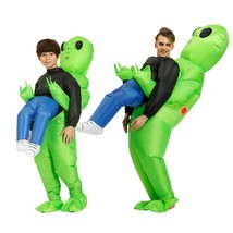 Green Alien Costume Inflatable Cosplay Suit Party Carnival Funny Adults ... - $45.22+