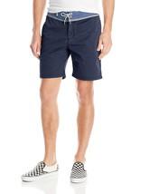 New Quiksilver Street Trunk Yoke Shorts Mens Sz 36 Blue Walk Short - $46.71