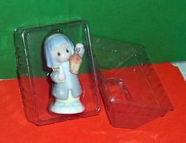 Precious Moments Shepherds Holiday Guest List Porcelain Ornament Decoration MIB - $9.89