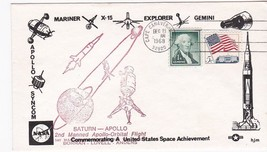 SATURN APOLLO 2nd MANNED APOLLO ORBITAL FLIGHT CAPE CANAVERAL 12/21/1968... - $1.98