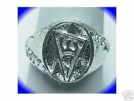 COOL New Real Solid Sterling Silver .925 Star of David ring JEWISH Judai... - $25.99
