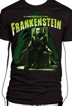 Universal Monsters Frank Frankenstein Electric Chair Classic Horror T Tee Shirt - $21.99