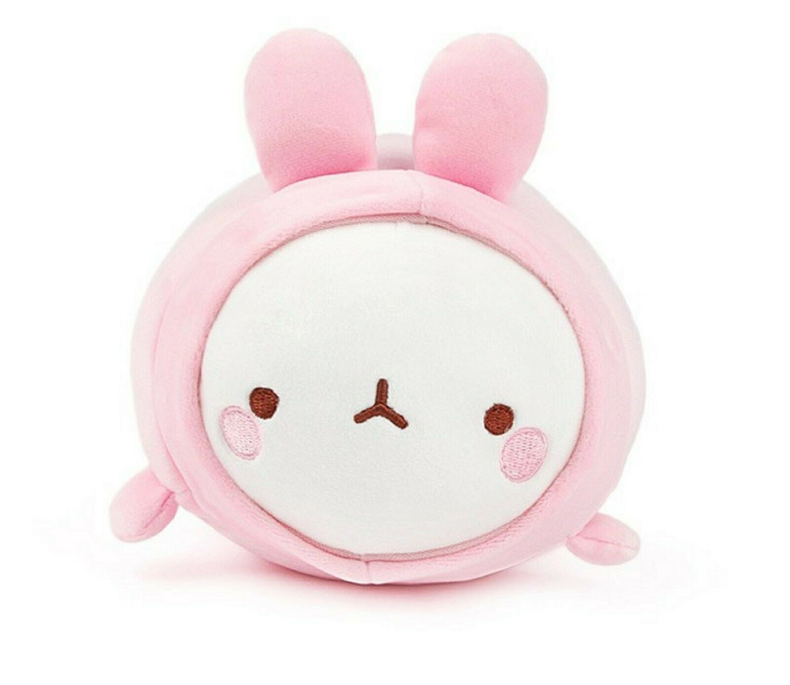 Molang Fluffy Soft Cushion Stuffed Animal Plush Pet Space Suit Rabbit Toy 9""