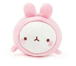 "Molang Fluffy Soft Cushion Stuffed Animal Plush Pet Space Suit Rabbit Toy 9"" image 1"