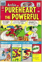 Archie as Pureheart the Powerful Comic Book #3, Archie 1967 VERY FINE- - $34.75