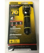 Stanley 95-152 LED 70 Lumens Industrial Black Handheld Flashlight - $15.84