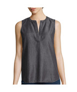 a.n.a V-Neck Tank Top Size S New Black Msrp $36.00 - $12.99