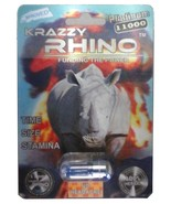 Krazzy Rhino R-ZONE on pill! Male Enhancement sex pills (5) pack - $29.99
