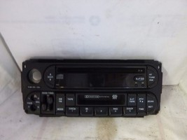 02-07 Dodge Chrysler Jeep Radio CD Cassette Face Plate P05064300AD JC8203 - $16.20
