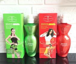 Aichun Beauty 3DAYS Slimming Gel Body Natural Extract Capsicum Green Tea 300ml - $12.95