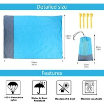 Waterproof Beach Blanket Outdoor Portable Picnic Camping Ground Mat Slee... - $17.79+