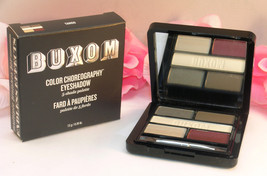 New Buxom Eye Shadow Color Choreography 5 Shade Pallette Tango Grey Tan - $18.99