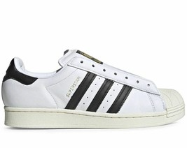 ADIDAS SUPERSTAR LACELESS WHITE/BLACK TRAINERS SNEAKERS WOMEN SHOES FV3017 - $99.42