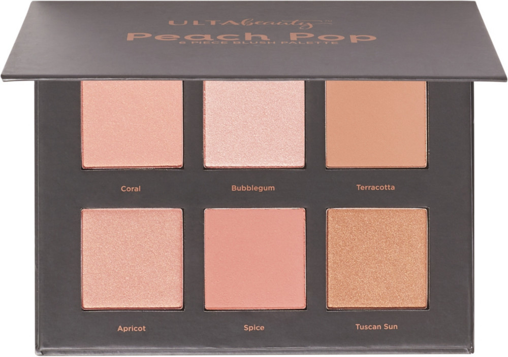 Ulta Beauty Peach Pop 6 Piece Blush Palette (Pack of 1) - $29.99