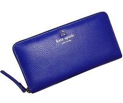 Kate Spade Grant Park Neda Leather Wallet (Lapis)