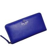 Kate Spade Grant Park Neda Leather Wallet (Lapis) - $112.00