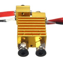 Dual Head Extruder V6 Hot End Extruder With Wire For 3D Printer - $49.99