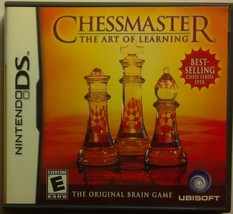 NintendoDS: Chessmaster: The Art of Learning- EMPTY BOX and BOOKLET ONLY... - $2.50