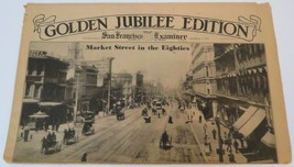 Golden Jubilee Edition San Francisco Examiner Newspaper 1937 WWII Era Ma... - $24.95