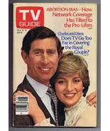 ORIGINAL Vintage TV Guide November 9, 1985 No Label Prince Charles & Lad... - $18.55