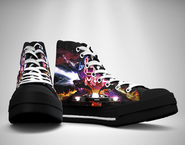 88 MPH Time Travel Canvas Sneakers Shoes - $49.99