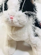 Webkinz Ganz HM016 Black & White Kitty Cat Plush - $17.81