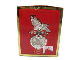 Lenox Our First Christmas Together 2003 Silverplated Ornament - $18.11