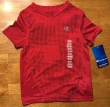 NWT Champion Authentic Kid's Red Short Sleeve Dri-Fit Athletic Shirt - S... - $7.91