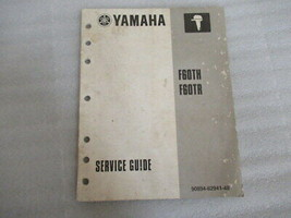 PM136 Yamaha Marine F60TH F60TR OEM Service Guide Manual P/N 90894-62941-48 - $12.91