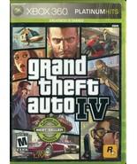 Grand Theft Auto IV - Platinum Edition (Xbox 360, 2008) - No Manual - $3.95