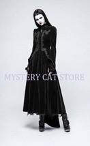 New PUNK RAVE Gothic Victorian Aristocrat Black Velvet Jacket Coat Y776 ... - $163.38