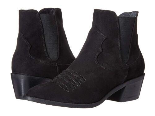 Carlos by Carlos Santana Women Western Chelsea Boots Size US 7.5M Black - $29.65