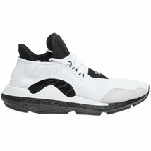 adidas Men's Y-3 Saikou Knitted Trainers White / Black Boost trainers - $257.85