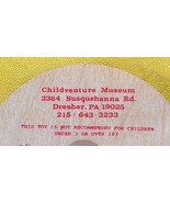 Whirligig spinning Top, Childventure, custom imprint, Toycrafter 1989 - $4.75