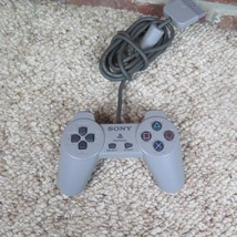 Playstation 1 PS1 Official OEM Gray Controller Used - $7.78