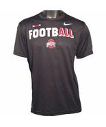 Ohio State Buckeyes Nike Football Legend Sideline Team Issue L T-Shirt - $33.25