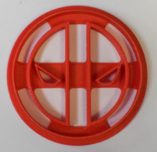 Deadpool Superhero Marvel Character Cookie Cutter 3D Printed USA PR504 - $2.99