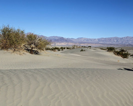 Mesquite Flat Sand Dunes at Death Valley National Park in California Photo Print - $7.05+
