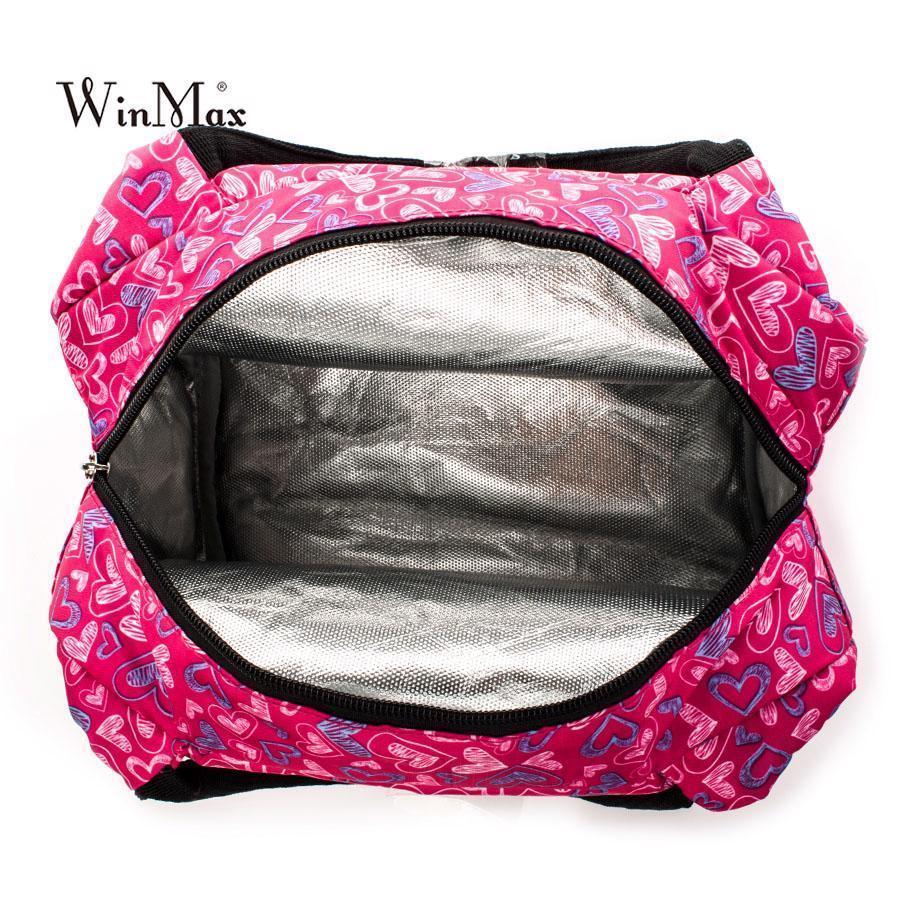 Food Fresh Keep Lunch Box Bag Polyester Waterproof Picnic Travel Storage New
