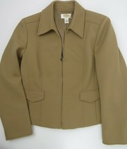 Talbots Petites Zip Front Jacket Women's Size 12 - $12.46