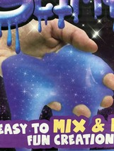 Make Your Own Galaxy Glitter Slimygloop Kit Mix and make Slime NEW sealed BOX image 2