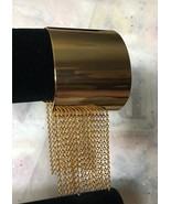 STEELTIME Stainless Steel Fringe Cuff Bracelet New - $36.99